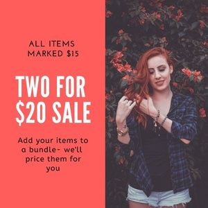 Pants - ❤2 for $20 sale!
